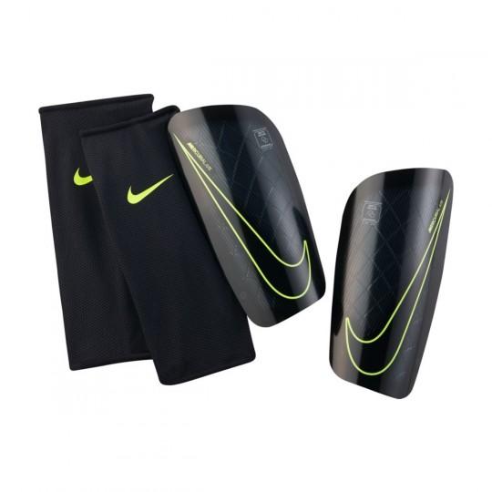 Espinillera  Nike Mercurial Lite Black-Volt