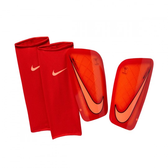 Caneleira  Nike Mercurial Lite Hyper orange-University red-Bright mango