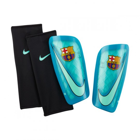 Espinillera  Nike Mercurial Lite FC Barcelona Green glow-Energy-Black