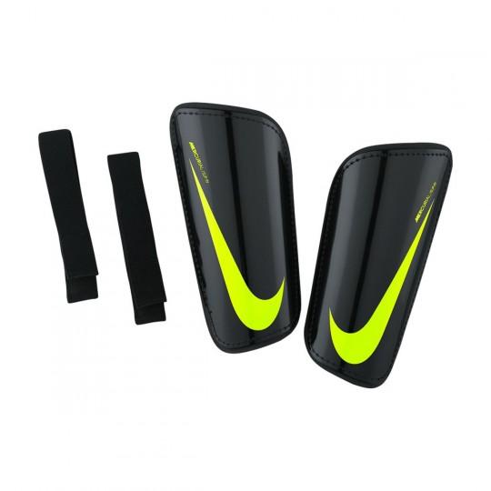 Caneleira  Nike Hard Shell Slip-IN Black-Volt