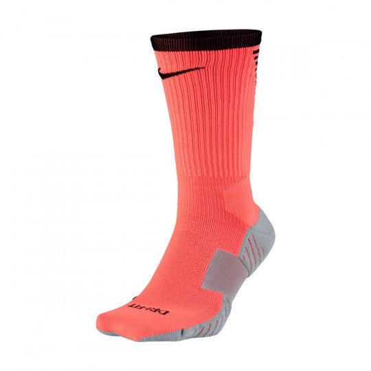 Calcetines  Nike Stadium Crew Hyper orange-Wolf grey-Black
