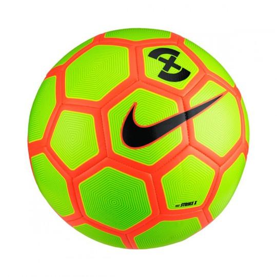 Bola de Futebol  Nike FootballX Strike Volt-Electric green-Hyper orange-Black