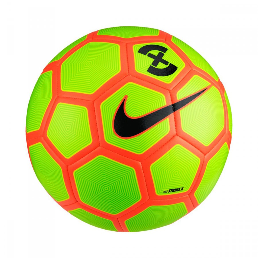 Balón Nike FootballX Strike Volt-Electric green-Hyper orange-Black ... fe05d765adba4