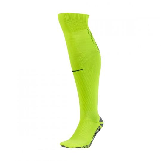 Chaussettes   Nike Strike Light Over-The-Calf Volt-Black