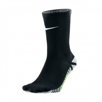Chaussettes  Nike Grip Strike Light Crew Black-Volt-White
