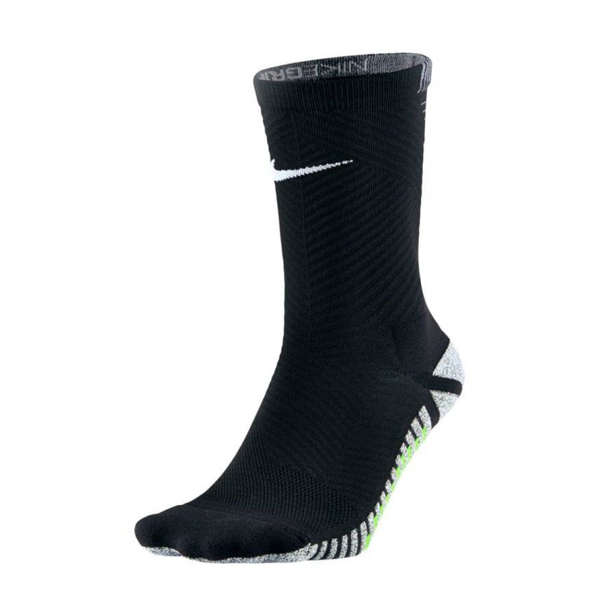 c976fecf1 Socks Nike Grip Strike Light Crew Black-Volt-White - Football store ...