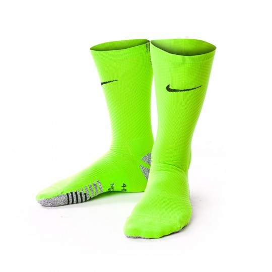 Meias  Nike Grip Strike Light Crew Electric green-Black