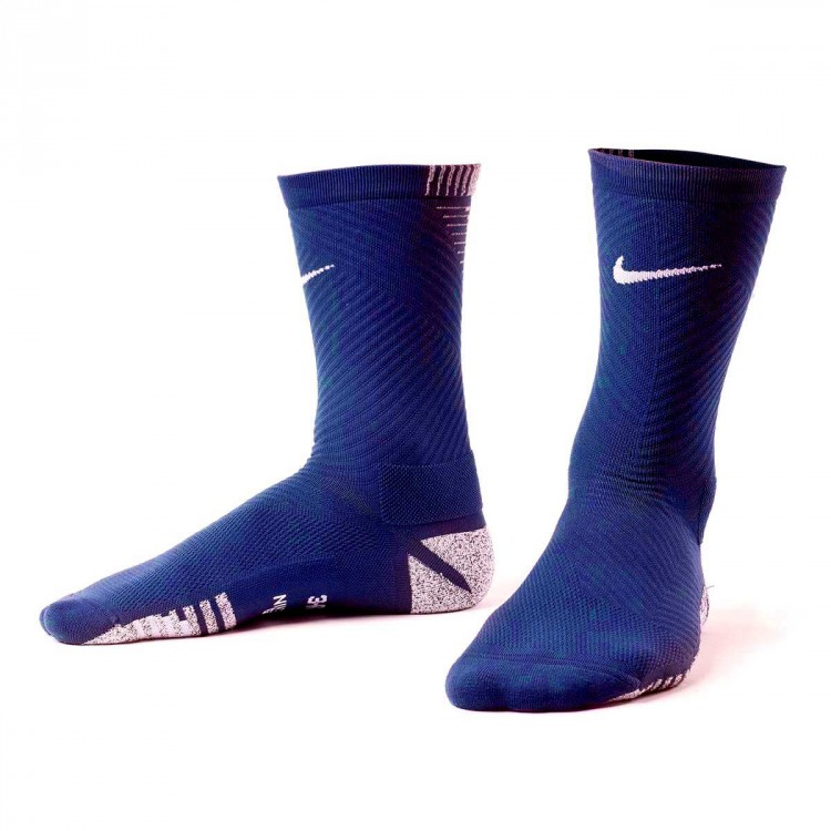 09fd3087c2a Socks Nike Grip Strike Light Crew Midnight navy-White - Tienda de ...