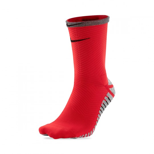 Calcetines  Nike Grip Strike Light Crew University red-Black