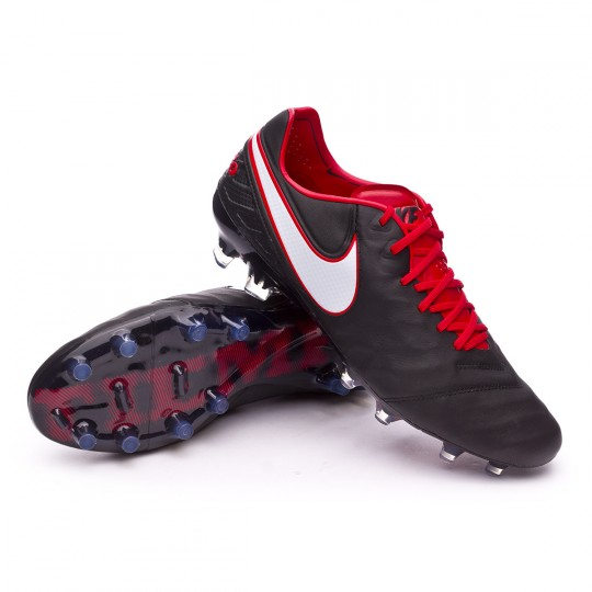 best service 96b46 e43af Boot Nike Tiempo Legend VI ACC FG Black-White-University red - Football  store Fútbol Emotion