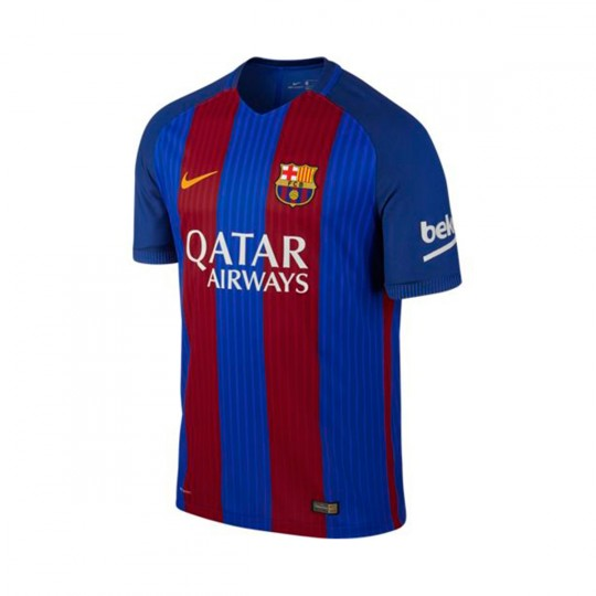 Camiseta  Nike FC Barcelona Home Vapor Match 2016-2017 Sport royal-University gold