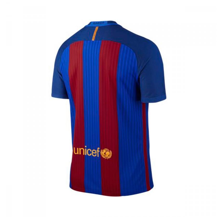 479ea3251fef4 Camiseta Nike FC Barcelona Primera Equipación Vapor Match 2016-2017 Sport  royal-University gold - Tienda de fútbol Fútbol Emotion