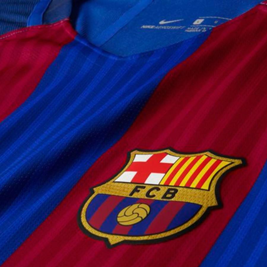Camiseta Nike FC Barcelona Primera Equipación Vapor Match 2016-2017 ... 79ecda9511f