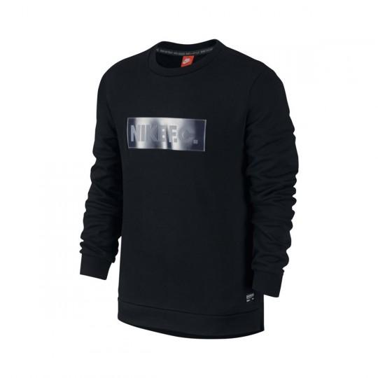 Sudadera  Nike F.C. Crew Black