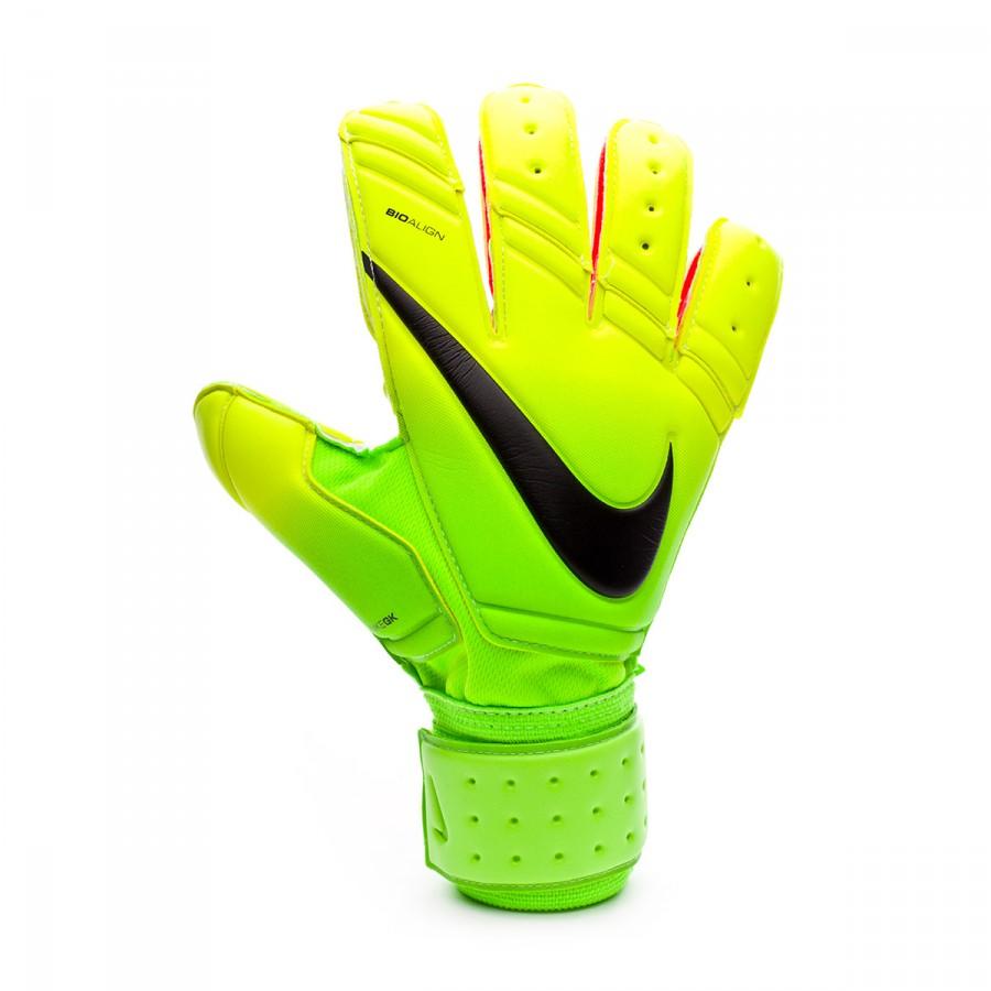 327139da91c Glove Nike Premier SGT Electric green-Volt-Black - Football store Fútbol  Emotion