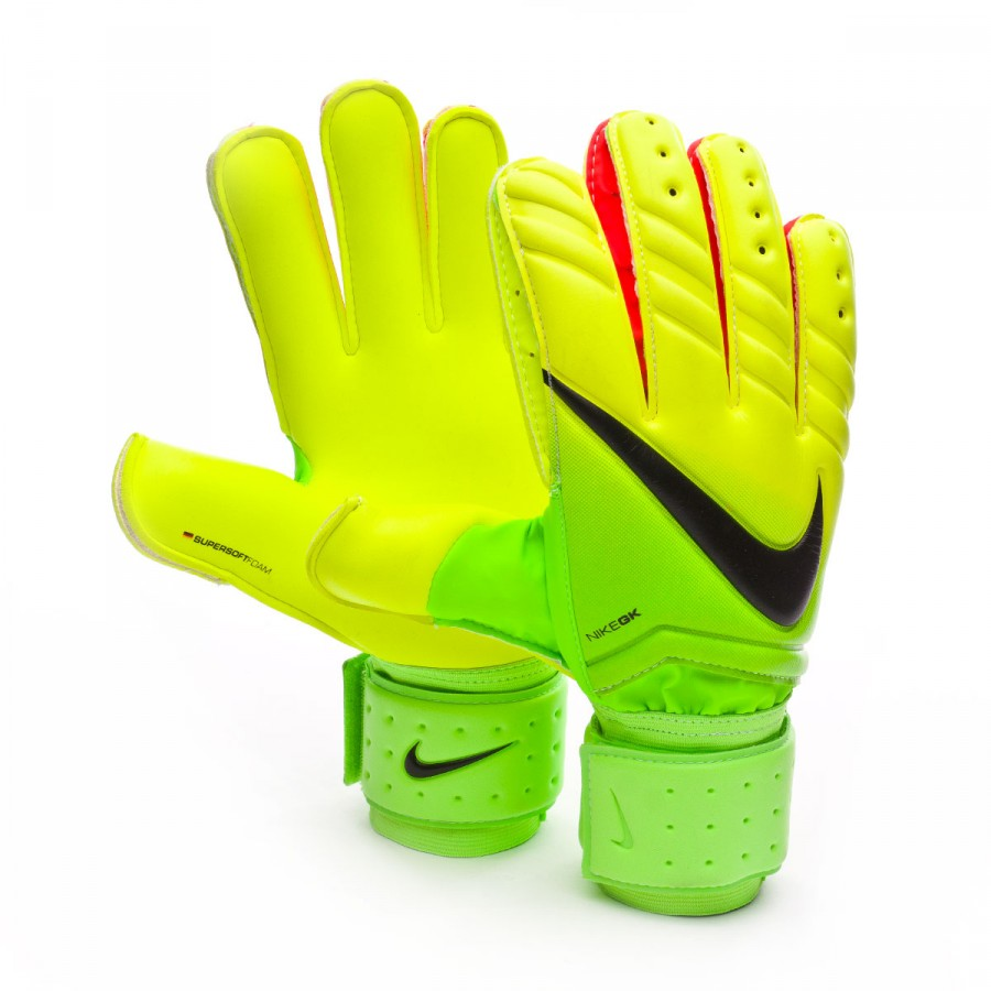 fce847c962b Glove Nike Spyne Pro Electric green-Volt-Black - Tienda de fútbol ...