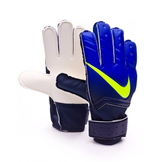 Guante  Nike jr Match Obsidian-Paramount blue-Volt