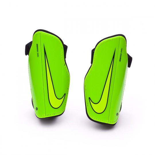 Espinillera  Nike Charge 2.0 Electric green-Black-Volt