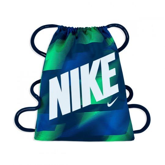 Saco  Nike jr Graphic Gym Sack Binary blue-White