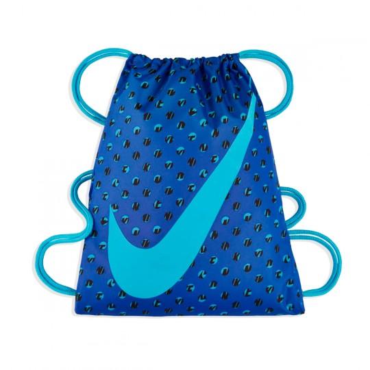 Bolsa  Nike jr Graphic Gym Sack Comet blue-Vivid sky