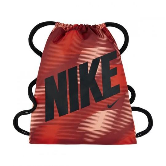 Saco  Nike jr Graphic Gym Sack Dark cayenne-Black