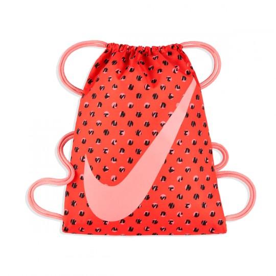 Saco  Nike jr Graphic Gym Sack Max orange-Bright melon