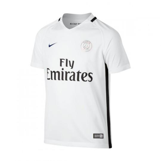 Camiseta  Nike jr Paris Saint-Germain Home Stadium 2016-2017 White
