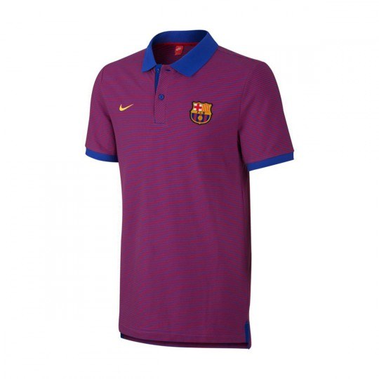 Polo  Nike FC Barcelona Grand Slam 2016-2017 Game royal-True red-University gold