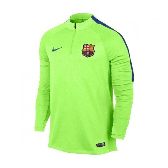 Camiseta  Nike FC Barcelona Dril 2016-2017 Ghost green-Game royal
