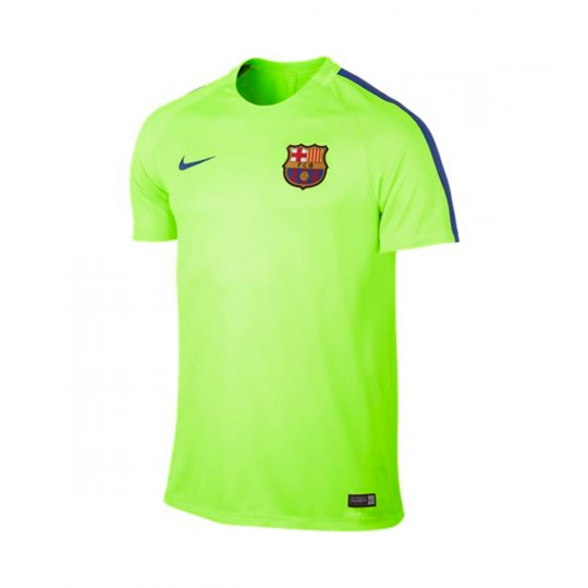Camiseta  Nike Dry FC Barcelona Training 2016-2017 Ghost green-Game royal