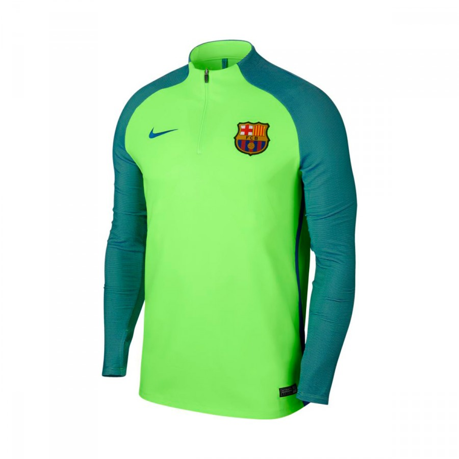 c7698b8daff6a Playera Nike FC Barcelona Strike 2016-2017 Ghost green-Game royal - Tienda  de fútbol Fútbol Emotion