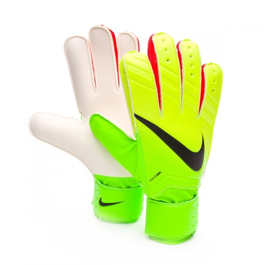 Luvas  Nike jr Match Electric green-Volt-Black