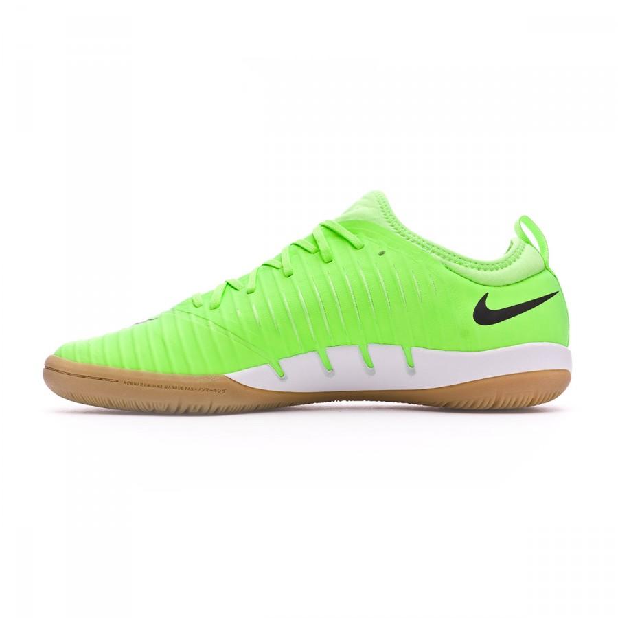 new concept 4a847 cbbfe Chaussure de futsal Nike MercurialX Finale II IC Flash lime-Black-White-Gum  light Brown - Boutique de football Fútbol Emotion
