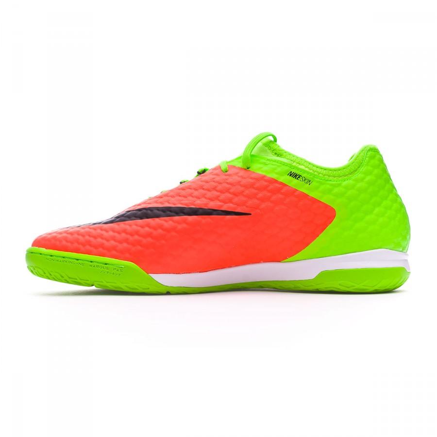 Futsal Boot Nike HypervenomX Finale II IC Electric green-Black-Hyper  orange-Volt - Soloporteros es ahora Fútbol Emotion 839c11acd4b6e