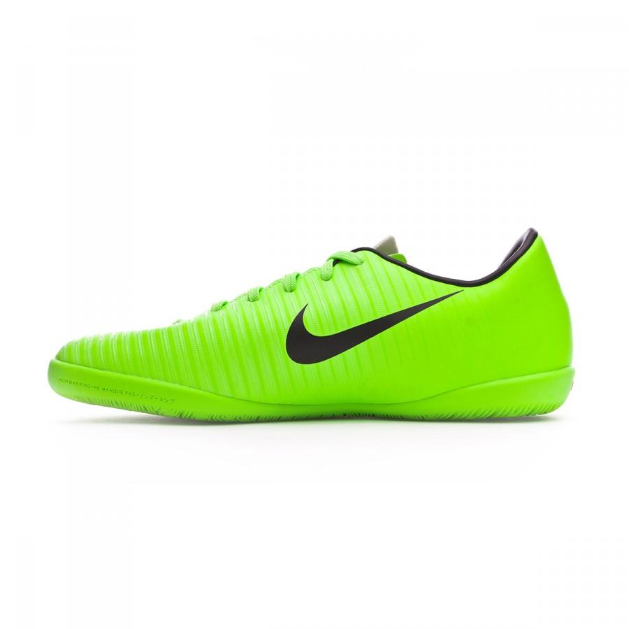 0eaff1e6e Futsal Boot Nike Jr MercurialX Vapor XI IC Electric green-Black-Flash  lime-White - Football store Fútbol Emotion