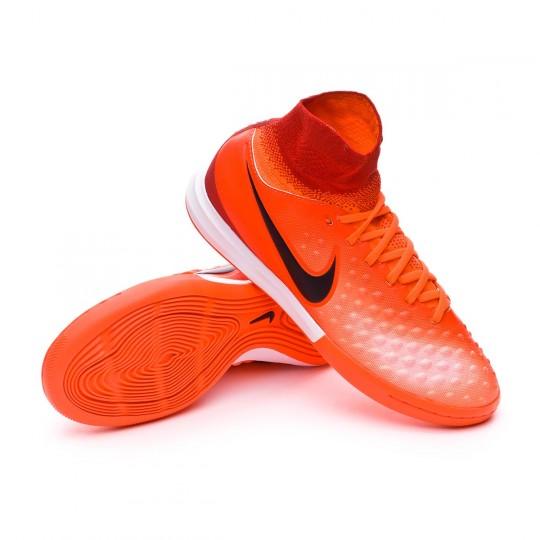 Chaussure de futsal  Nike jr MagistaX Proximo II IC Total crimson-Black-University red