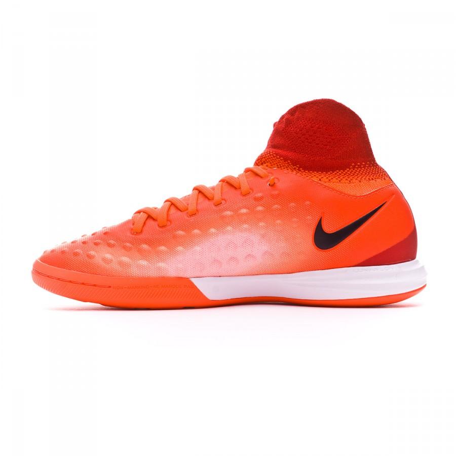 Futsal Boot Nike Jr MagistaX Proximo II IC Total crimson-Black ... 33ec54df28598