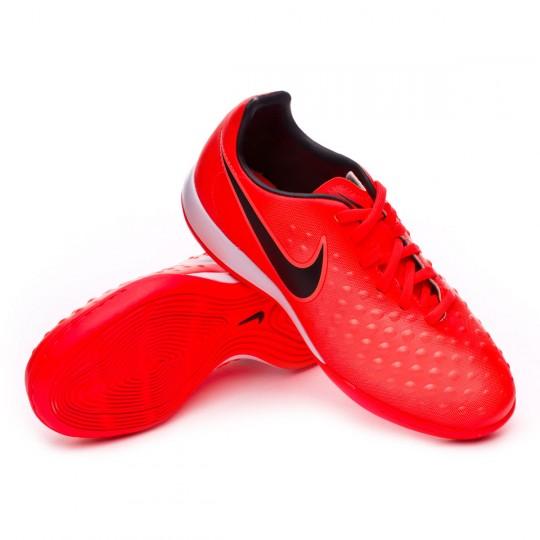 Zapatilla  Nike MagistaX Opus II IC Niño Total crimson-Black-Bright mango
