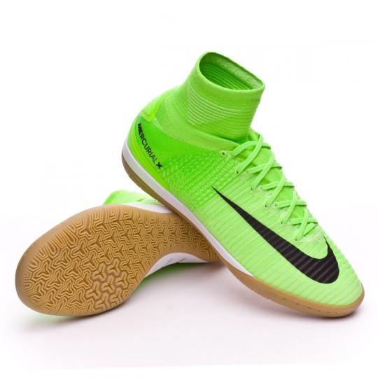 Chaussure de futsal  Nike MercurialX Proximo II IC Electric green-Black-Ghost green