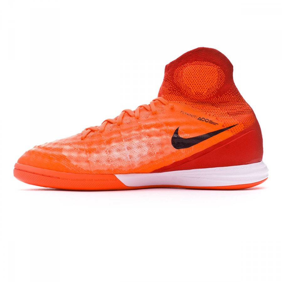 08cb23690 Futsal Boot Nike MagistaX Proximo II IC Total crimson-Black-University red  - Football store Fútbol Emotion