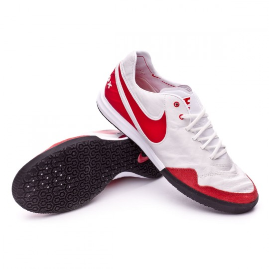 Zapatilla de fútbol sala  Nike TiempoX Proximo IC Summit white-University red-White-Black