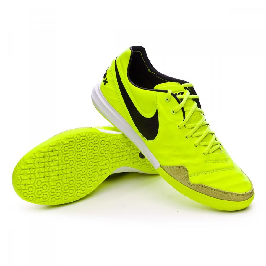 cfb45dd7b Futsal Boot Nike TiempoX Proximo IC Volt-Black-White - Football ...