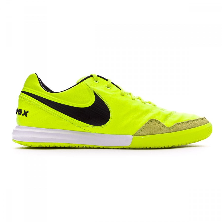 e52a5e68f21 Futsal Boot Nike TiempoX Proximo IC Volt-Black-White - Football store  Fútbol Emotion