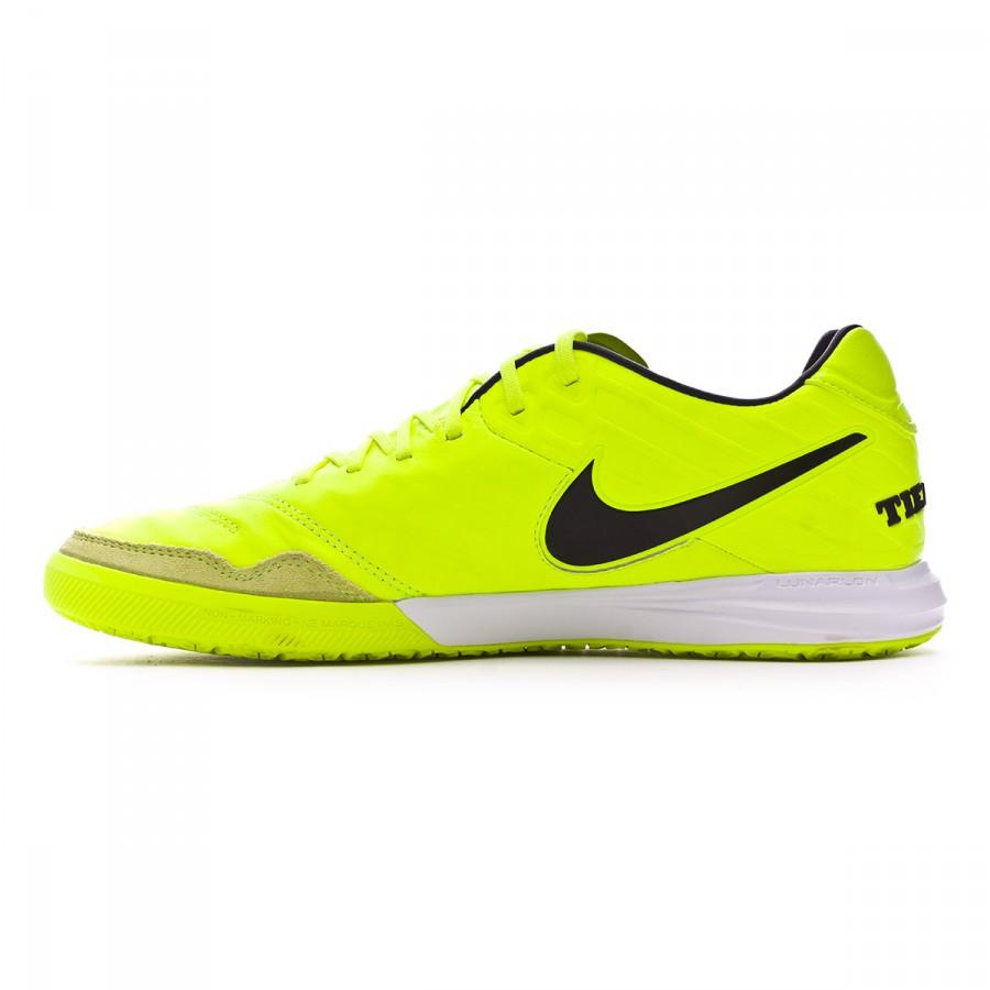 e81aa506a Futsal Boot Nike TiempoX Proximo IC Volt-Black-White - Football store  Fútbol Emotion