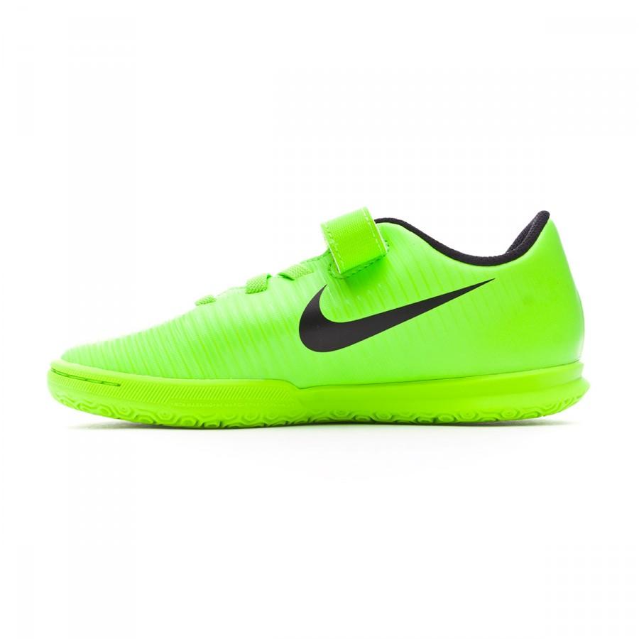 Anestésico milicia cebra  Futsal Boot Nike Jr MercurialX Vortex III v. IC Electric green-Black-Flash  lime-White - Football store Fútbol Emotion