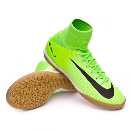 Zapatilla  Nike MercurialX Proximo II IC Niño Electric green-Black-Ghost green