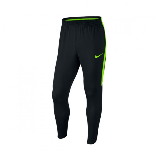 Pantalon  Nike Dry Football Black-Electric green