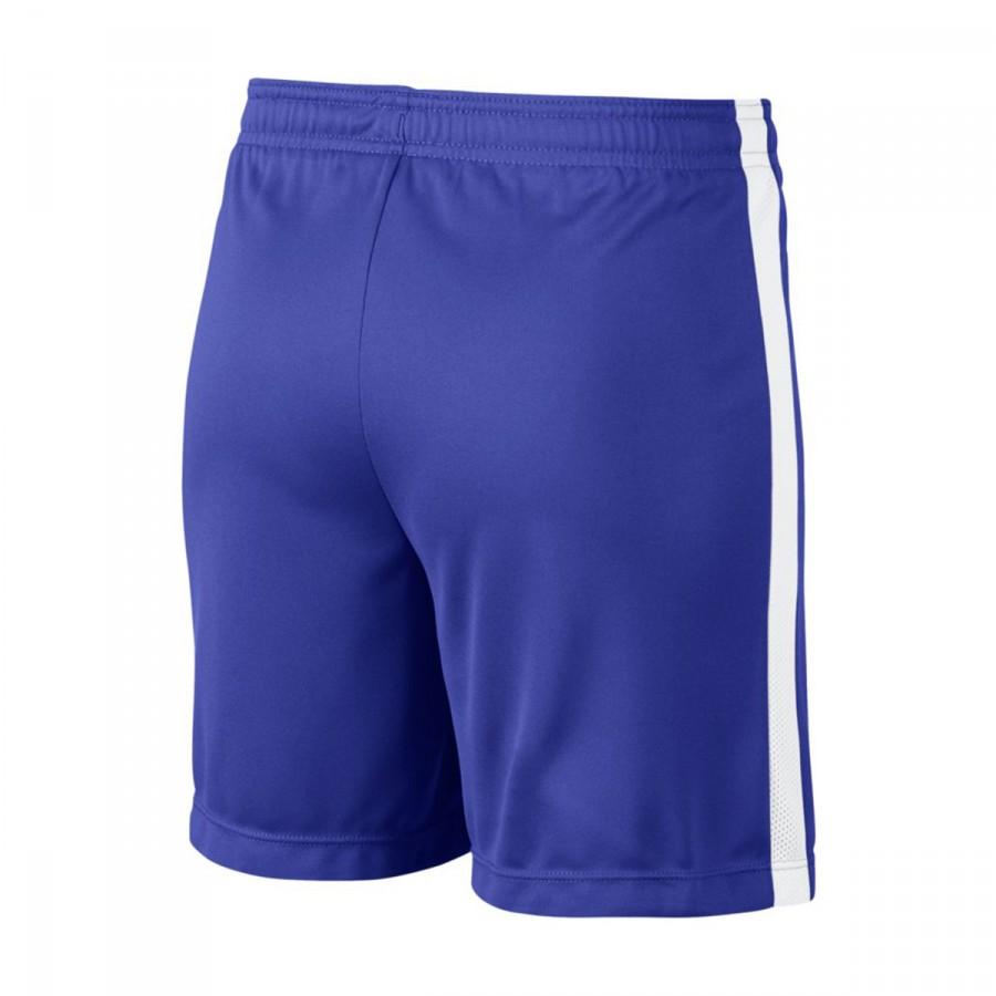 Leaked Pantalón White Paramount Academy Blue Corto Nike Niño Dry qf0Rq8r