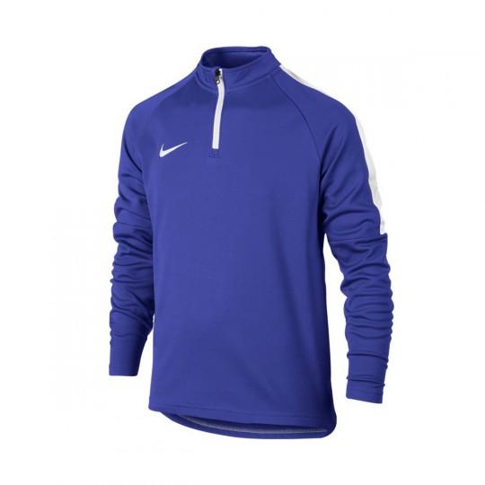 Camiseta  Nike jr Dry Academy Football Dril Paramount blue-White