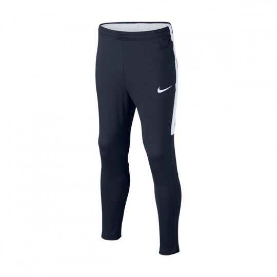 Pantalón largo  Nike jr Dry Academy Football Obsidian-White